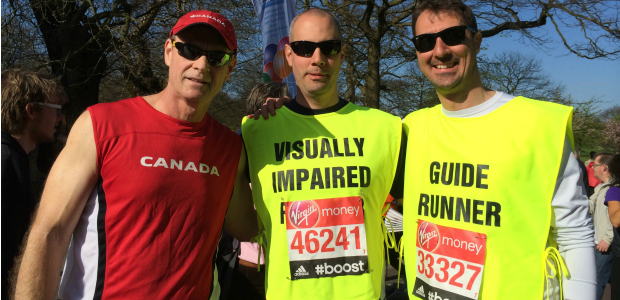 London Marathon- April 13, 2014 (me, Michale Ovens, Eric mann) (4)