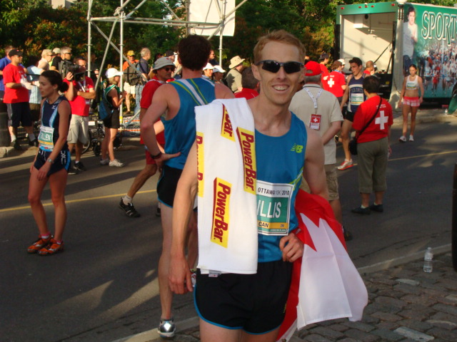 (5) Eric Gillis- London Olympic marathon qualifier for Canada