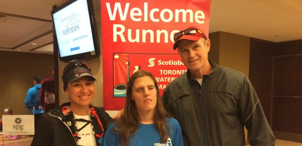 1. Scotia Marathon, Oct 18, 2015- Guided Blind runner Louise (1)