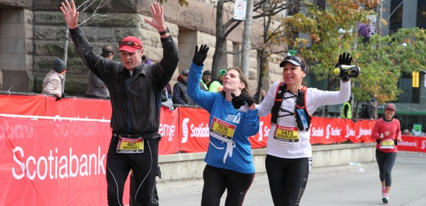 4. Scotia Marathon, October 18, 2015-Guiding Blind Runner Louise (7)